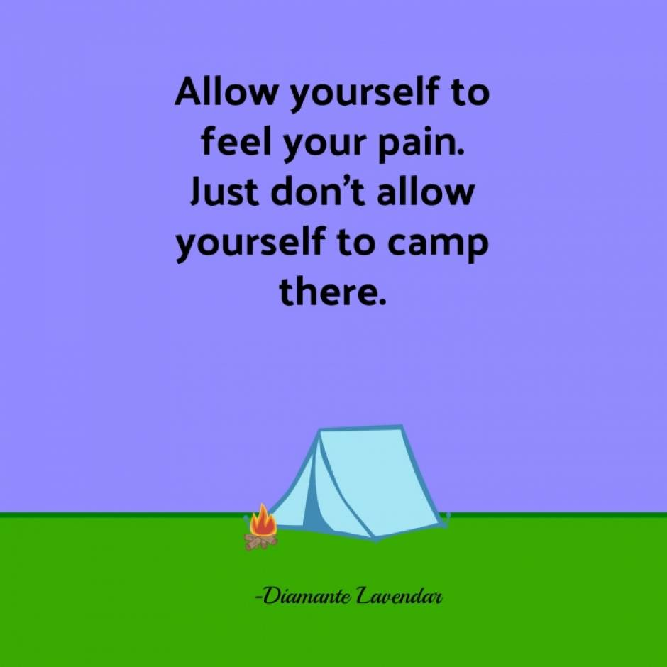 Allow Yourself To Feel Pain