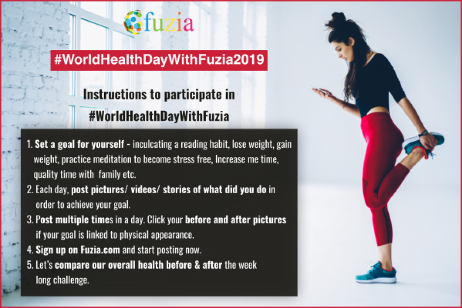 world health day with fuzia 2019