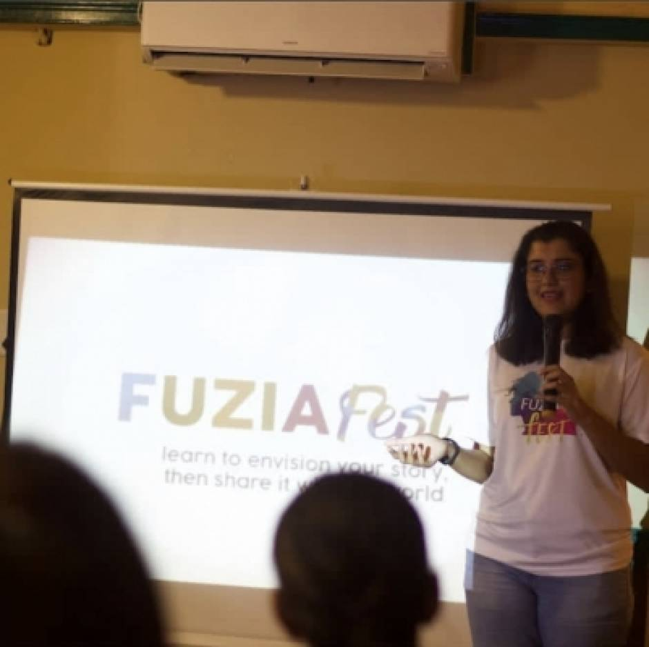 Glimpse of fuzia fest in Bhopal