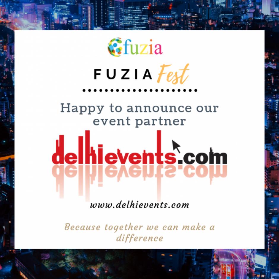 Fuzia partnership with delhi events