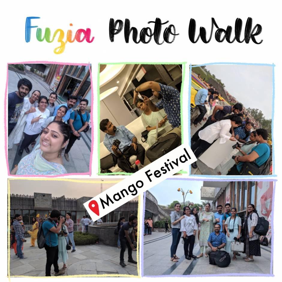 Fuzia Photowalk in Mango Festival