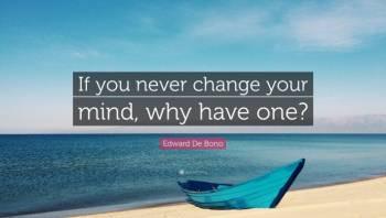 I changed my mind.