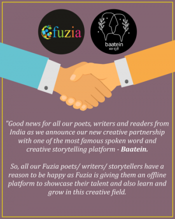 Fuzia Collaborates With \'Baatein\' - Storytelling \\&amp\\; Poetry
