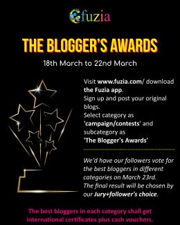 The blogger's awards