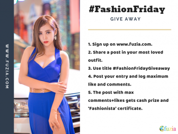 Be our Fashionista!