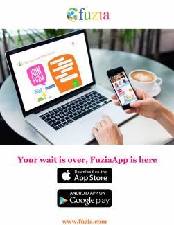 Fuzia App- Now on App Store!